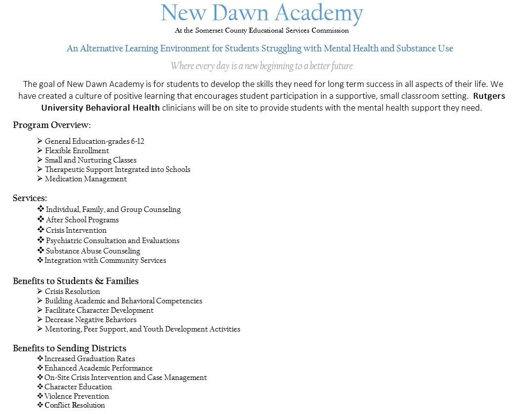 New Dawn Academy